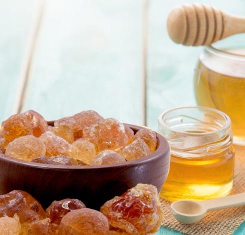 Le miel et la gomme d'Acacia